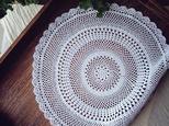 【K様:オーダー】Crocheted doily*花(L)の画像