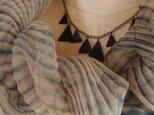 嵐絞りシルクオーガンジーストールの画像