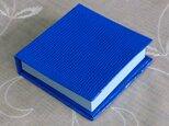 ポストイッツホルダー とかげ 青色の画像