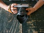 カメラハンドストラップ/ミラーレスカメラ仕様 - ヴィンテージタンの画像