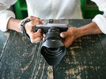 カメラハンドストラップ/ミラーレスカメラ仕様 - ヴィンテージブラックの画像