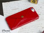 ENVELOPE iPhone SE/5/5s ケース(ルビー)  ILL-1134の画像