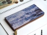 L字ファスナー長財布(スターリー ナイト)オールレザー 牛革 レディース メンズ ILL-1156の画像