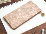 L字ファスナー長財布(グレイッシュ ジニア)オールレザー 牛革 レディース メンズ ILL-1156の画像