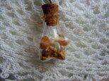 ガラスボトル ペンダントの画像
