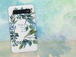 【モバイルバッテリー】水彩で描いた花とハーブ for iPhone&Androidの画像