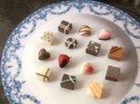 選べるピアス 小さな小さなチョコアソート(ノンホールピアス)の画像