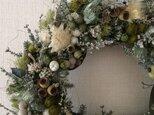 white wreatheの画像