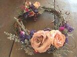 rose wreathe Sサイズの画像