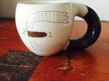 粉引き マグカップの画像