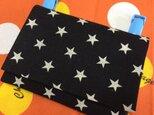 送料込み カラーオーダー ハンドメイド移動ポケット シンプル スター 星柄の画像