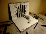3D DRAWING-Beckoning to the evilの画像