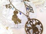 不思議の国のアリス バッグチャーム チェシャ猫 6の画像