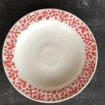 "kakiotoshi rim plate - ""南天の庭""の画像"