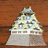 お城❤️日本ワッペンアップリケパッチ❤️ハンドメイド素材パーツの画像