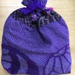 おばあちゃん作✳︎絞りの巾着の画像