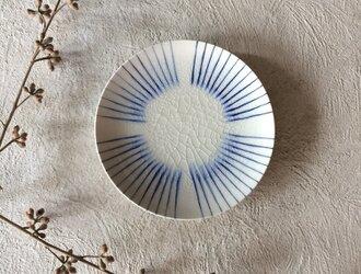ストライプ菓子皿φ16cmの画像