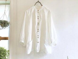 flopsy P blouse (white x cb)の画像