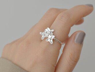 金木犀のリング:フリーサイズ:silver925の画像