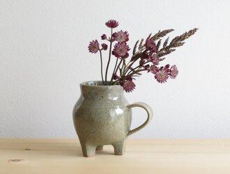 3つ足花瓶 GG003の画像