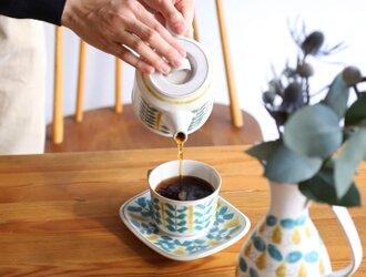 fajans コーヒーカップ&ソーサー カップ の画像