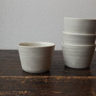 シンプルカップ(白)