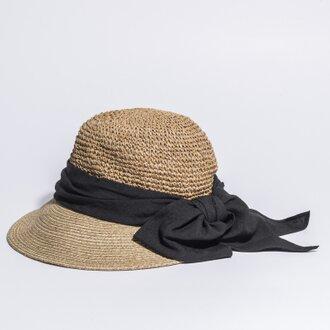 天然折りたたみママキャップ 麦わら帽子 17SSN-006