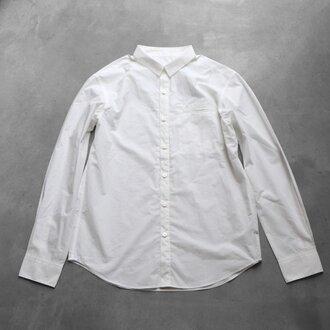 タイプライタークロスコットンシャツ[ユニセックスsize2]