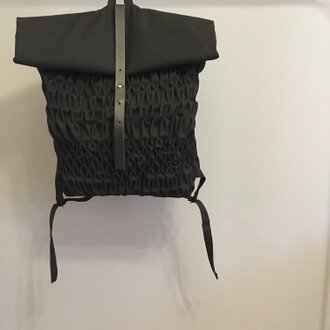【50%OFF】Smocking Backpack-messenger style-