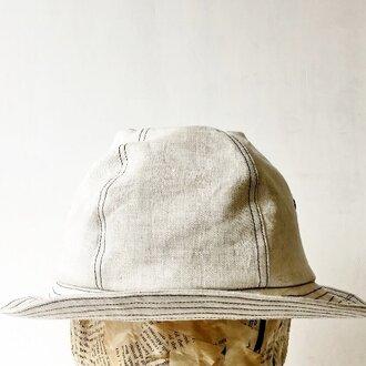 【M】ABOA HAT | LINEN st.BK 58.0/ONESIZEFIT