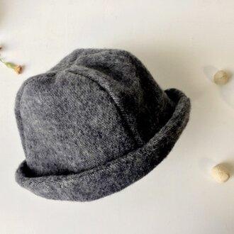 HELMA HAT | HINADORI WOOL GRAY【M】