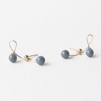 cherry gray【pierce/earring】
