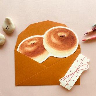メッセージカード/あんパン