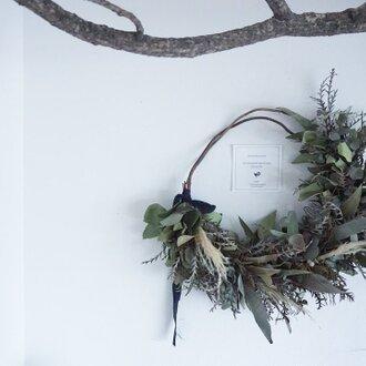 グリーンベースの枝見せリース