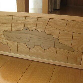 木製パズル(ワニ)