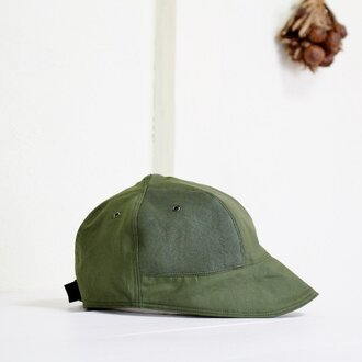LOKACAP|C/N TWILL × LEATHER FOREST GREEN【M】