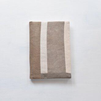 A5ノートカバー|草木染め モダンキルトのノートカバー #05