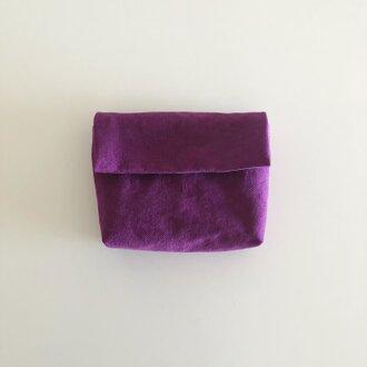きちんとポーチ M  / purple
