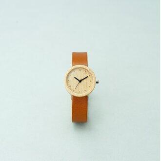 Maple (size S) × Honey (Organic Swedish Leather)