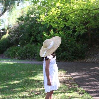 子ども用広つば麦わら帽子 メアリーMary