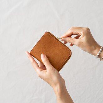 【受注製作】革の財布S Cognac