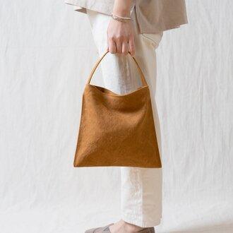 Mini Holiday bag キャメル