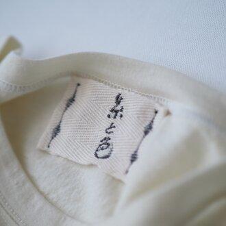 無添加ウールTシャツ(七分袖) シミーズラグラン ひつじ サイズ3 尾州 【糸と色】