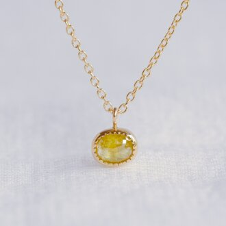 Fennel Flower Diamond Necklace