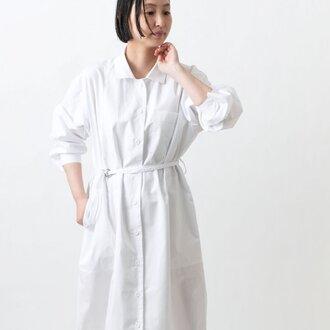 【new】木間服装製作 / longshirt white / unisex 1size / ロングシャツ