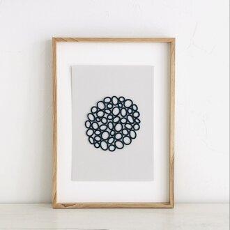 embroidery art 刺繍のフレーム aiiro