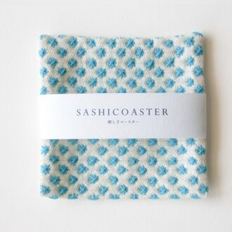 SASHICOASTER(刺し子 コースター)15