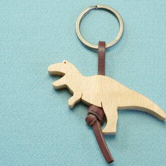 ティラノサウルス / 恐竜 木のキーリング