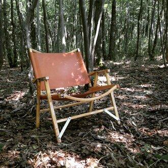 カーミットチェア Kermit Chair / 交換用レザーファブリック キャメル CAMP