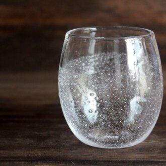 小さな泡のグラス ハーフ 小さめ